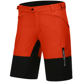 Protective P-Bounce Pantaloncini da ciclismo Uomo, rosso